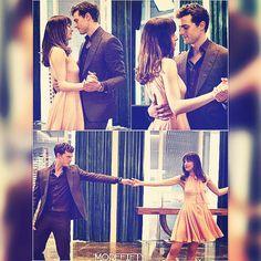 'Dance with me.' ❤ #50shadesofgrey #50shades #fiftyshadesofgrey #fiftyshadesdarker #fiftyshadesfreed #ChristianGrey #AnastasiaSteele #jamiedornan #dakotajohnson #damie #latersbaby #fsog #teamfifty #fifty #more #morefifty #love #mrgreywillseeyounow #dancing #dancewithme #dance