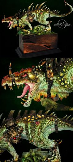 Lizardmen Dread Saurian.