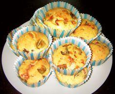 Muffin+salati+funghi+e+pancetta