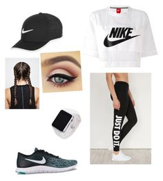 Nike look by thekidsone on Polyvore featuring polyvore NIKE fashion style clothing