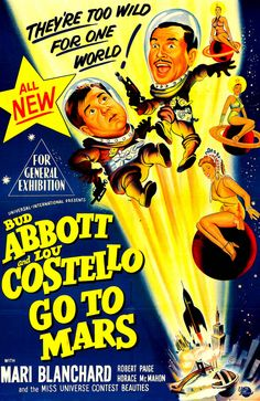 Abbott and Costello, classic comedy, Bud and Lou, comedy teams, movie posters