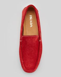 prada red shoes for men