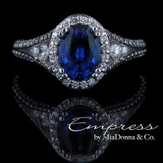 Okay... All I can say is: gorgeous! -miadonna.com Empress $2,998.00