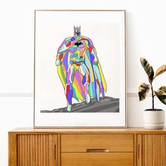 "Lauren Pearson | Illustrator's Instagram photo: ""We all wear masks🕊 @batman"" Illustrator, Batman, Prints, How To Wear, Instagram, Illustrators"