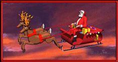 Santa Claus Gifs Animados, parte 4
