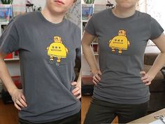 Found it! very good instructions and a video on changing the boxy sleeves of a unisex tshirt!  T-Shirt Mod: Boxy to Foxy — DIY How-to from Make: Projects