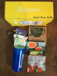 Everything in my Influenster Revive VoxBox