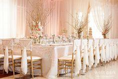 gold weddings | Pink & Gold Wedding Inspiration