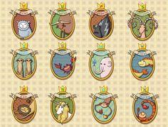 Zodiac animals :)