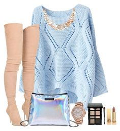""""""""""" by cdne on Polyvore featuring Balmain, Accessorize, Michael Kors, Bobbi Brown Cosmetics and Yves Saint Laurent"""