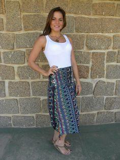 Vestido Saia Onda 7- #mundoshakti #quemédomar #estilo #moda #boho #bohochic #verão2016