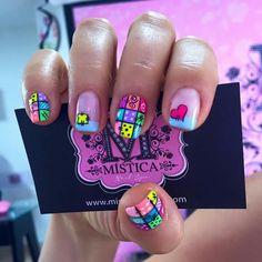 Uñas decoradas Mística 💅👌👣 #AndryRegiino🤓👣 Nicole By Opi, Color Club, Sally Hansen, China Glaze, Essie, Vs Pink, Sephora, Nail Designs, Nail Polish