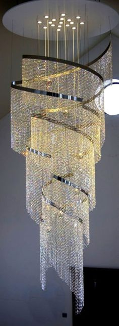 Crystal Chandeliers repined by BellaDonna'sLuxuryDesigns via CCC
