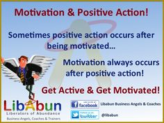 Want to get more motivated...get more active first! I know it sounds kinda backward, but it works...