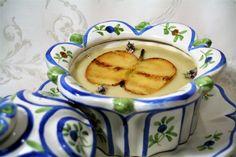 Crema ligera de manzana, apio y jengibre