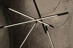 SHANGAI  steel lamps. BLANCO. Carpi. Design by AMORFO STUDIO