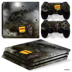 Faceplates, Decals & Stickers Dependable Fallout Vinyl Decal Skin Sticker For Sony Playstation 4 Pro Console Attractive And Durable Video Games & Consoles
