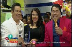 Reconocimiento con una estrella por siempre al grande Angelito Villalona en Petagate y Gana con El Pachá