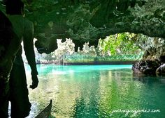 Sohoton cave entrance, Siargao- Philippines http://www.keepcalmandtravel.com/siargao-island-philippines-surf-and-beach-paradise-can-be-yours-at-20-dollars-a-day/
