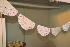 A Vintage & Shabby Chic Party via Baby shower ideas for boy or girl #babyshowerideas