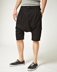 Drop Crotch Shorts.. yeh I could rock these