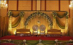 A WEDDING PLANNER: Indian wedding stage decorations and indian wedding mandap de. - A WEDDING PLANNER: Indian wedding stage decorations and indian wedding mandap decorations - Wedding Stage Decorations, Wedding Backdrop Design, Wedding Stage Design, Wedding Reception Backdrop, Engagement Decorations, Marriage Decoration, Wedding Mandap, Flower Decorations, Wedding Receptions