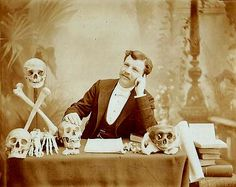 [portrait of a French scientist with specimens], N. Charmantray via Luminous Lint, Paul Frecker Old Photographs, Old Photos, Photography Exhibition, Art Photography, Victoria Reign, Victorian Portraits, Marcus Black, Medical Illustration, Thats The Way