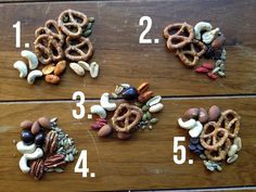 Trail Mix: 10 ingredients, 5 tasty variations – Campfire Chic