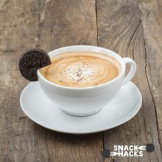 This is one good looking cup of Oreo Joe courtesy of Handsome Coffee. Get the Oreo Snack Hack here.