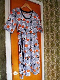 Hupsista! Siitähän tuli...: Hilda-mekko