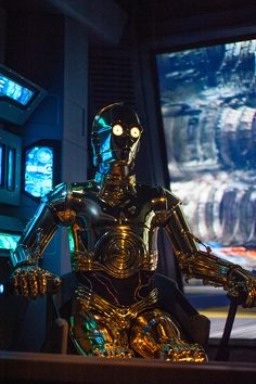 C3-PO... Star Tours in Disney Hollywood Studios. This ride was awsome.