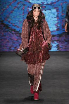 Anna Sui Ready To Wear Fall Winter 2015 New York