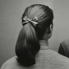 the classic 50s ponytail
