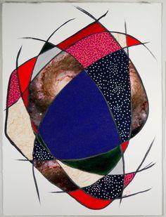 Whirlpool Galaxy by Janice Mueller
