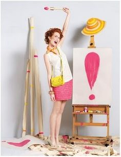 """""""A Pop of Pink"""": Kate Spade Spring Looks, Starring Bryce Dallas Howard Kate Spade Bangle, Cool Style, My Style, Spring Looks, Pink Champagne, Playing Dress Up, Pink Yellow, Hot Pink, Pretty Pictures"""
