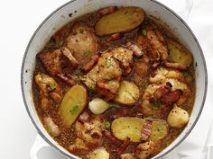 Beer-Braised Chicken from FoodNetwork.com