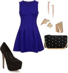 Christmas Outfit., have a dress like this, great for holiday!