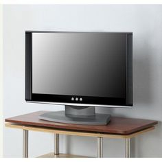 Designs 2 Go XL Swivel TV Stand for TV or Monitor, for Screens up to 32 inch by Convenience Concepts, Red