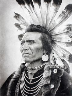 Chief Eagle - Salish Chief