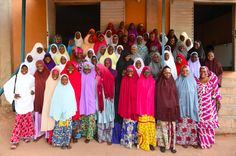 How a school in Zinder, Niger helps girls get a diploma and gain more independence. Education is important folks! Photo: Frank Dejongh