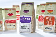 Actualité / Botanical Bakery change d'identité visuelle / étapes: design & culture visuelle #packaging