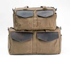 Outback Duffel—Heading out for the weekend or a week? Two sizes. http://www.sfbags.com/collections/canvas-duffel-bags/products/outback-waxed-canvas-duffel-bag