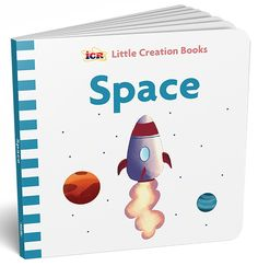 🚀 Blast off to our solar system and beyond! Discover planets, comets, and more in this sturdy little book that introduces our youngest children to God's awesome work in space. Science Resources, Our Solar System, Popular Books, Science For Kids, Little Books, Our Kids, Book Series, Astronomy, Planets