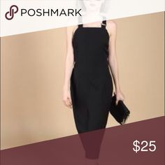 YHF black maxi dress with buckle straps Mine is a maxi dress but it looks extremely similar to this one. Dresses Maxi
