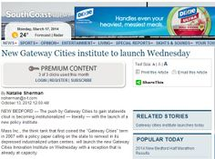 New Gateway Cities institute to launch Wednesday
