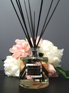 Reed Diffuser by LouMirandaaCo on Etsy