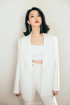 Song Qian, Victoria Song, Amazing Women, Duster Coat, Blazer, Jackets, Jade, Korea, China
