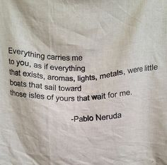 Pablo Neruda. Screenprint on linen by Sadie & Grace.