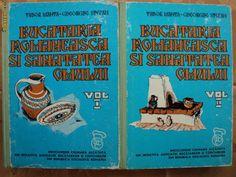 BUCATARIA ROMANEASCA SI SANATATEA OMULUI -TUDOR MANTA si GHEORGHE STEFAN - vol 1 si 2 foto mare