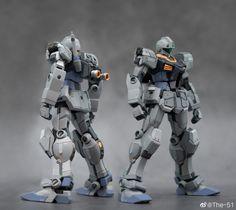 Gundam Build Fighters, Gundam Custom Build, Gunpla Custom, Mechanical Design, Gundam Model, Self Defense, Hgbf, Ground Type, Mass Production